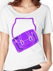 SATCHEL MAUVE/PURPLE  TEE/BABY GROW/STICKER Women's Relaxed Fit T-Shirt