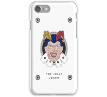 the jolly joker black iPhone Case/Skin