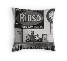 The Hardware Shop Throw Pillow
