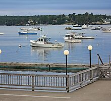 Evening At Boothbay Harbor by Jack Ryan
