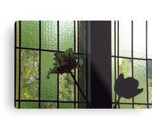 Flowers Inside and Outside! Metal Print