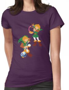 Link: Oracle of Ages/Seasons Womens Fitted T-Shirt