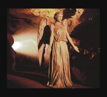 Golden Sunshine Weeping Angel by Marjuned