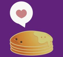 Pancake love by Blubirdie Shirts