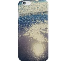 Sun reflected in the sand iPhone Case/Skin