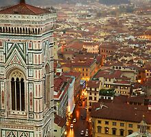 Giotto's Campanile by Edward Perry