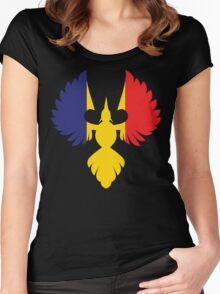 Romania Phoenix Women's Fitted Scoop T-Shirt
