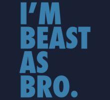 Beast As Bro (Blue) by Levantar