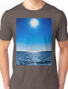 Sun, water, sky Unisex T-Shirt