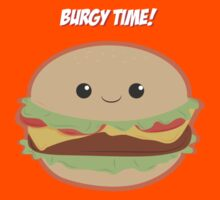 Burgy Time by Blubirdie Shirts