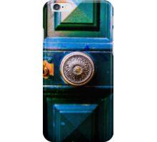 Antique door latch iPhone Case/Skin
