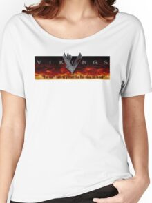 Vikings Tv Shows Women's Relaxed Fit T-Shirt