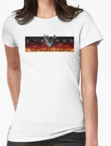 Vikings Tv Shows Womens Fitted T-Shirt