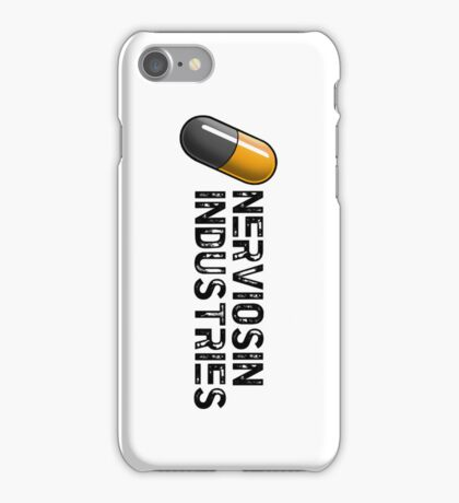 Nerviosin Industries (white) iPhone Case/Skin