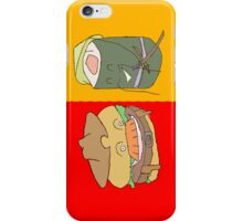 American Burger and Japanese Sushi iPhone Case/Skin