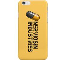Nerviosin Industries (yellow) iPhone Case/Skin