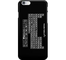 Periodic Table of Punk iPhone Case/Skin