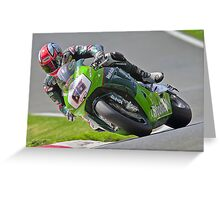 Tom Sykes #66 Greeting Card