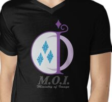 MOI Shirt (Full Logo) Mens V-Neck T-Shirt