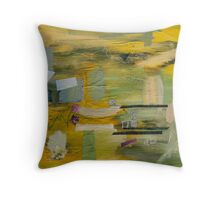 The non-traceable thoughts series 4 Throw Pillow