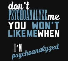 don't psychoanalyze me by thegreatqueen