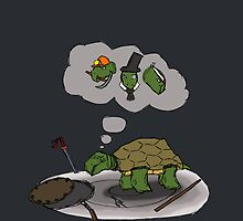 Mysterious Future of the Turtle by CiderMan