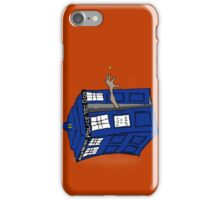 What if Gollum had TARDIS... iPhone Case/Skin
