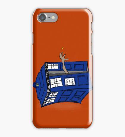 What if Gollum had TARDIS... iPhone Case/Skin