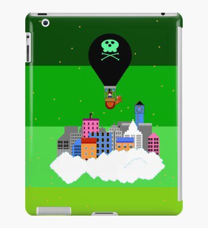 Retro Cloud City iPad Case/Skin