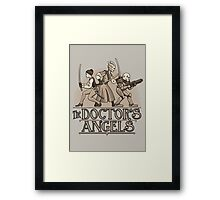 The Doctor's Angels Framed Print