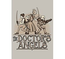 The Doctor's Angels Photographic Print