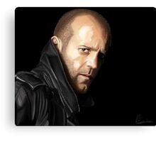 Jason Statham portrait I Canvas Print