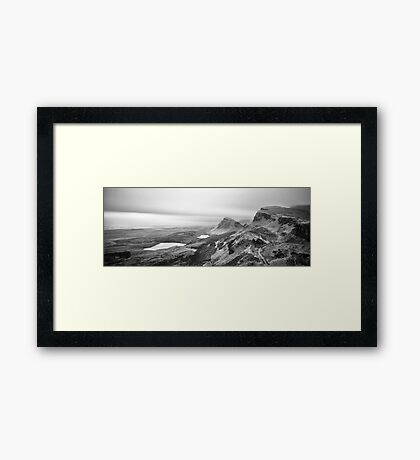 Nothing Human Framed Print
