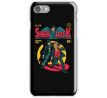 Sherlock Comic iPhone Case/Skin