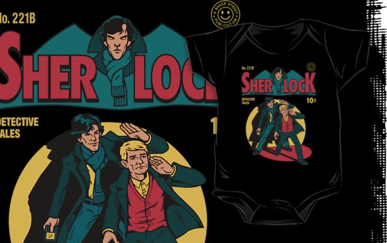 Sherlock Comic by harebrained