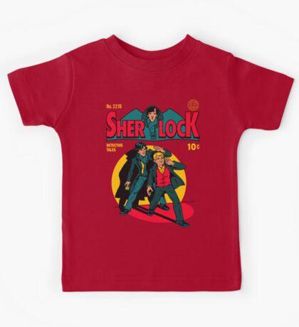 Sherlock Comic Kids Tee