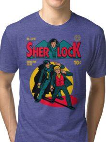 Sherlock Comic Tri-blend T-Shirt