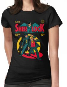 Sherlock Comic Womens Fitted T-Shirt