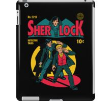 Sherlock Comic iPad Case/Skin