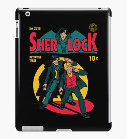 Sherlock Comic iPad Case/Skin