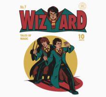 Wizard Comic Kids Tee
