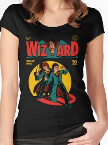 Wizard Comic Women's Fitted Scoop T-Shirt