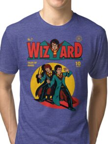 Wizard Comic Tri-blend T-Shirt