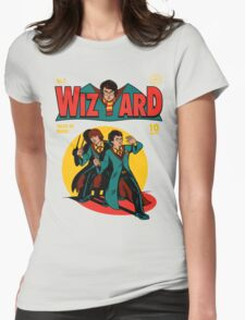Wizard Comic Womens Fitted T-Shirt