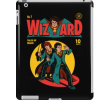 Wizard Comic iPad Case/Skin