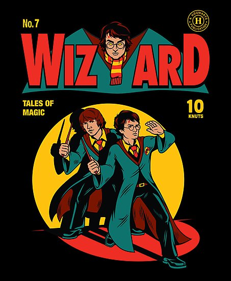 Wizard Comic by harebrained