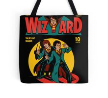 Wizard Comic Tote Bag