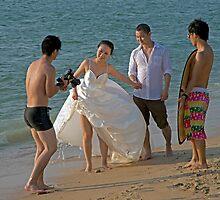 Beach Bride by DonMc