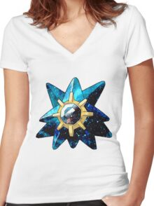 Starmie Women's Fitted V-Neck T-Shirt