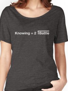 GI Joe: Knowing is half the battle (blue) Women's Relaxed Fit T-Shirt